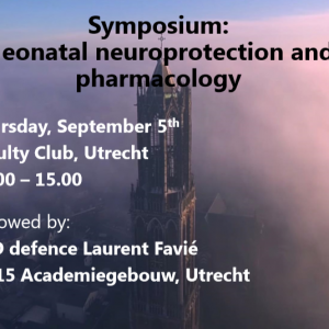 Symposium Neonatal Neuroprotection and Pharmacology