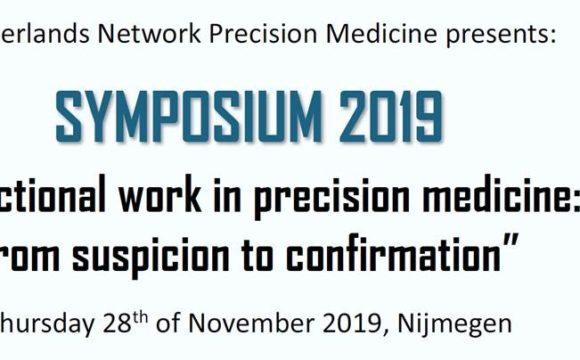 Netherlands Network Precision Medicine Symposium – 28th November 2019