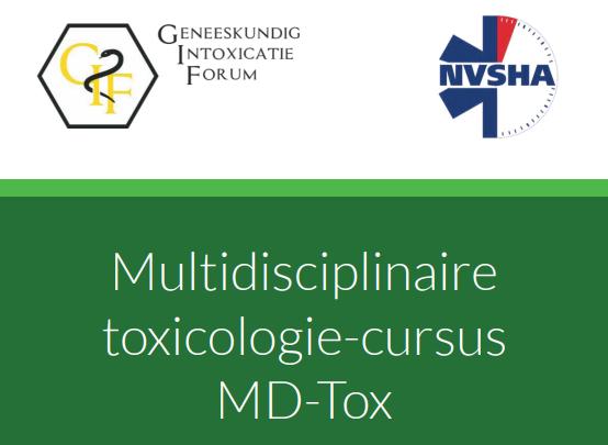 Multidisciplinaire toxicologie-cursus MD-Tox – 11 en 12 februari 2021